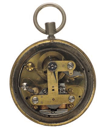 Early electric watch